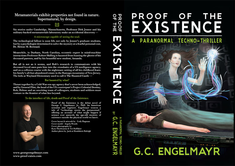 Proof of the Existence paperback cover - 2016